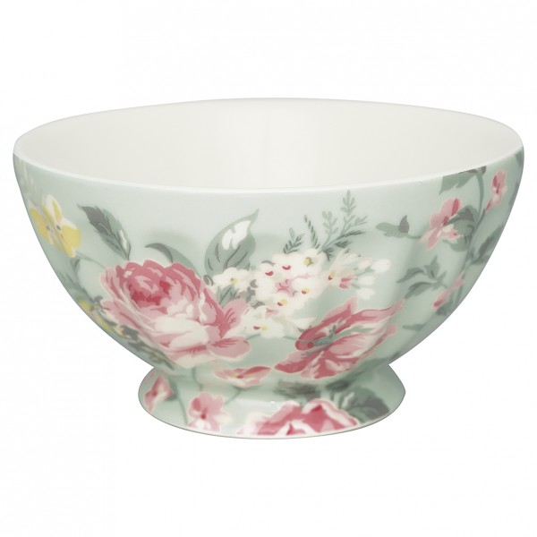 Greengate French Bowl XL Josephine pale mint