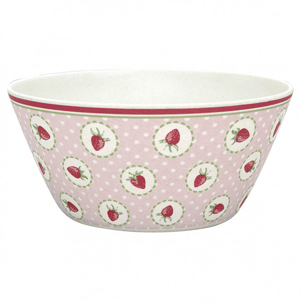 Greengate Schüssel Strawberry pale pink small