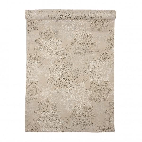 pad design Tischläufer Glamour Sand 45 x 150 cm