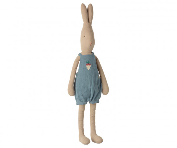 """Maileg Hase """"Rabbit Overall"""" Size 4, 62 cm"""