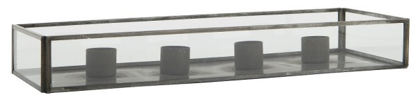 Ib Laursen Kerzhalter Glasbox