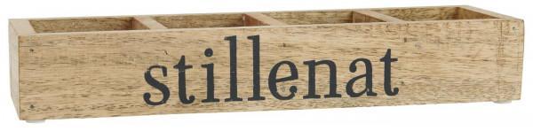Ib Laursen Holzkiste mit 4 Fächern Stillenat