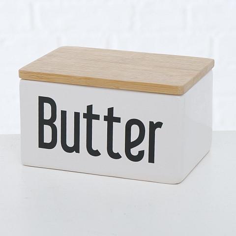 Butterdose, Steingut