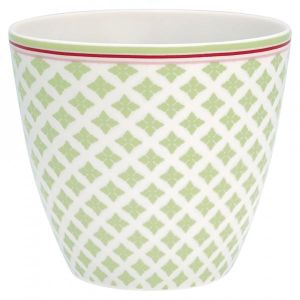 Greengate Latte Cup Sasha green