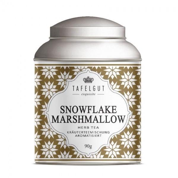 Tafelgut Snowflake Marshmallow Tea, Kräuterteemischung aromatisiert