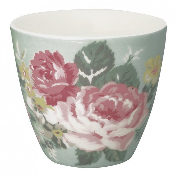 Greengate Latte Cup Josephine pale mint