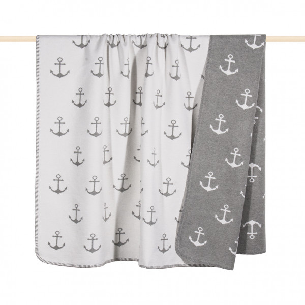 pad design Wolldecke Sailor light grey