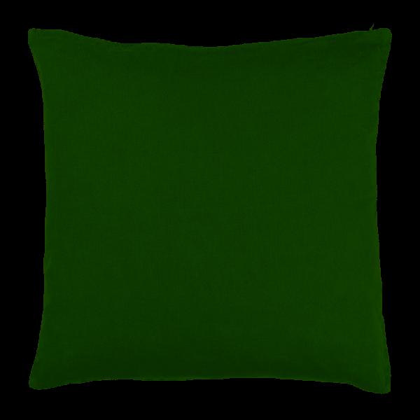 Ib Laursen Kissenbezug Grün 50 x 50 Leinen