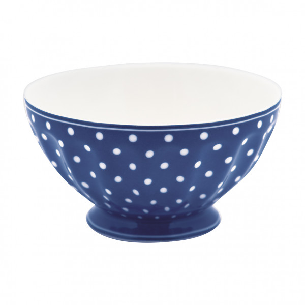 Greengate French Bowl XL Spot blue