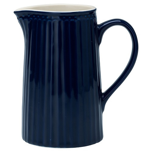 Greengate Porzellan-Krug Alice Dark Blue