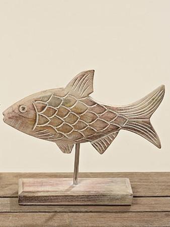 Deko-Aufsteller Fisch, spitze Rückenflosse