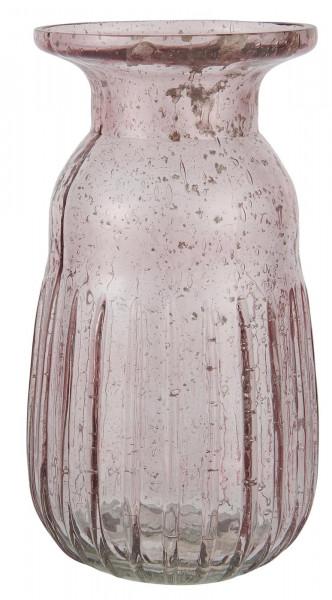 Ib Laursen Hyazinthenvase Pebbled Glas Rosa