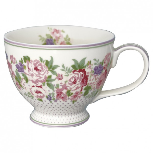 Greengate Teacup Rose white