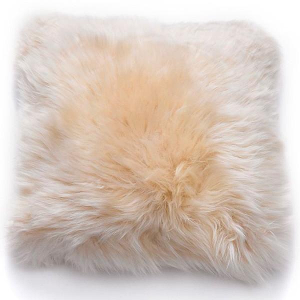 Natures Collection Neuseeland Schaffellkissen Linen