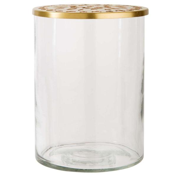 Ib Laursen Glas-Behälter Blumen Arrangement