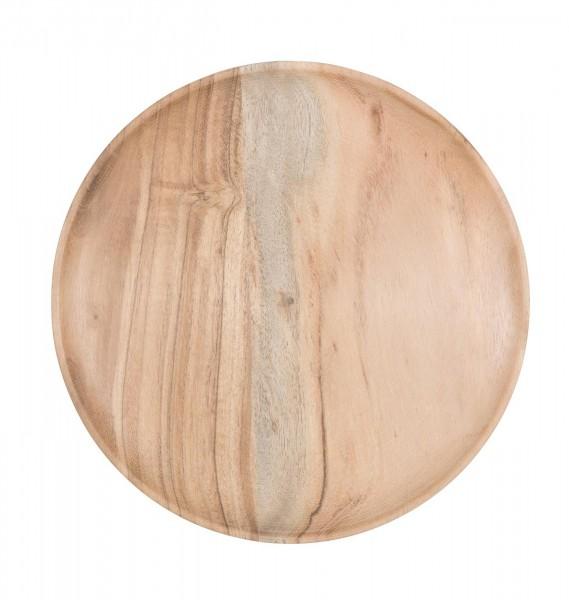Ib Laursen Teller aus Akazienholz  Ø 25 cm