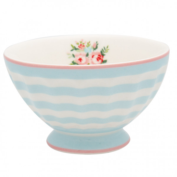 Greengate French Bowl medium Nellie pale blue