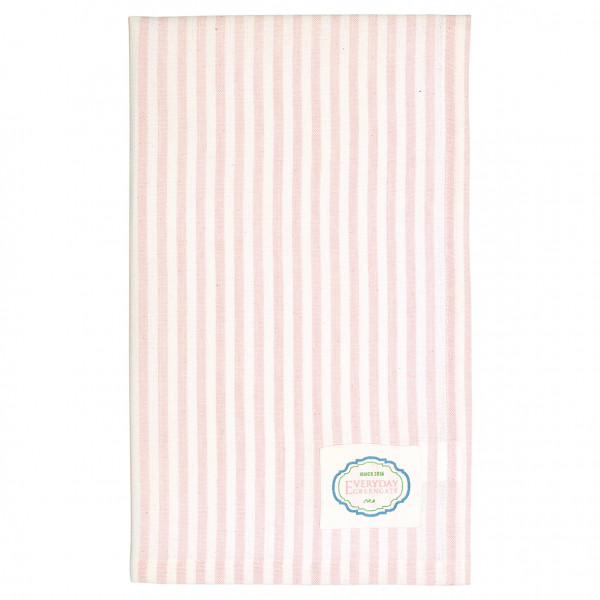 Greengate Geschirrtuch Alice stripe pale pink