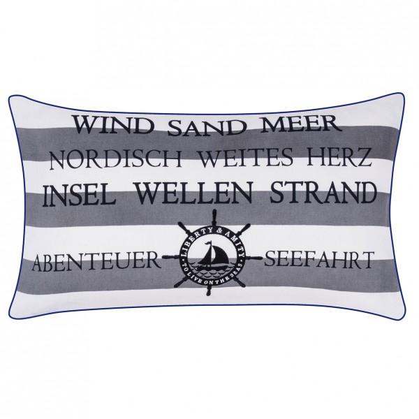 pad design Kissenhülle Island - Wind, Sand, Meer
