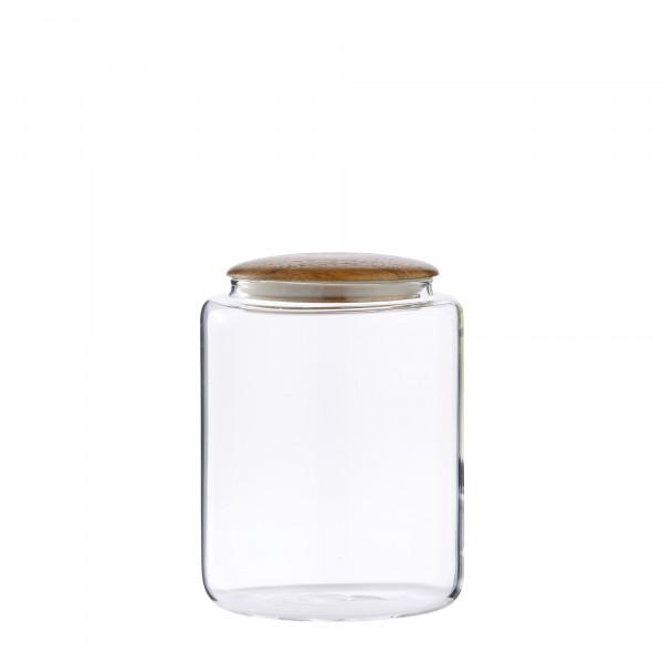 Lene Bjerre Vorratsdose Cristella transparent H 15 cm
