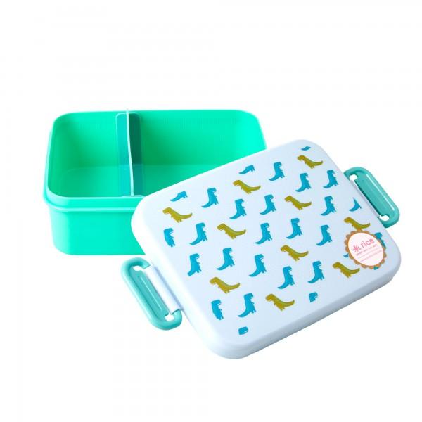 """Rice Lunchbox """"Dinosaurier"""" mit Abtrennung"""