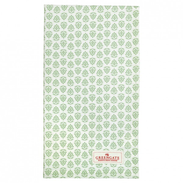 Greengate Geschirrtuch Ashley green