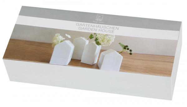 räder Zuhause Vasen-Set Gartenhäuschen 4tlg.