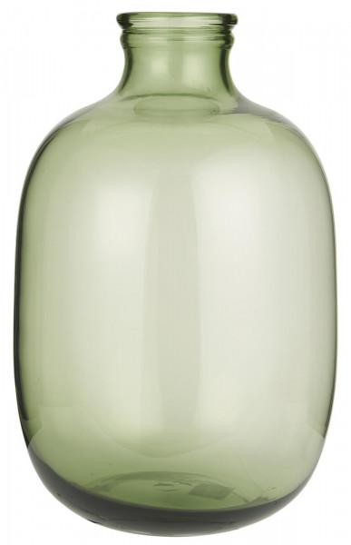 Ib Laursen Vase Glasballon Mundgeblasen