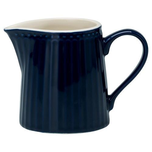 Greengate Porzellan-Milchkännchen Alice Dark Blue