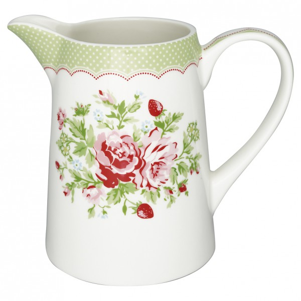 Greengate Krug Mary white 1 L