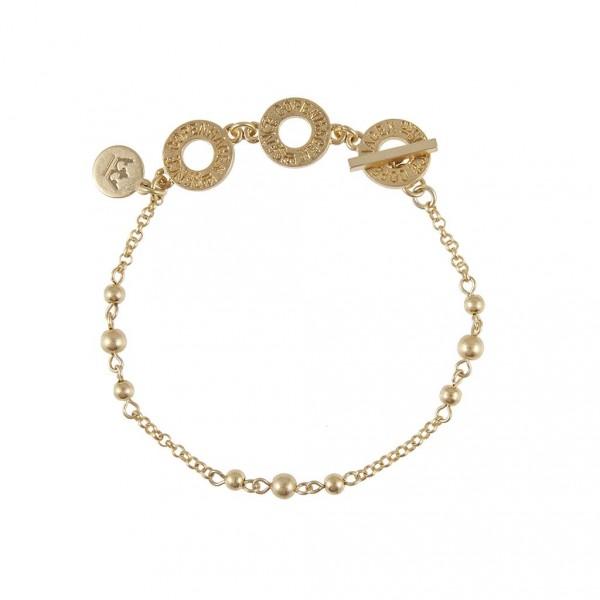 Sence Copenhagen Be Creative Armband worn gold