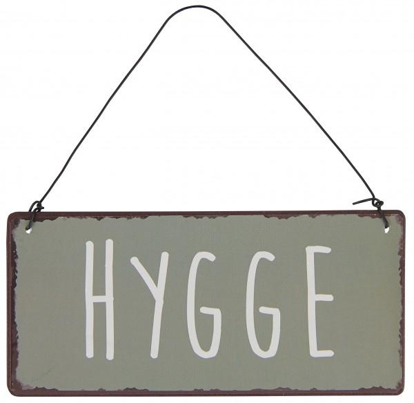 "Ib Laursen Metallschild ""Hygge"""