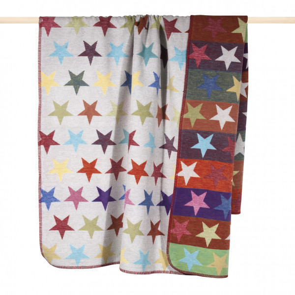 pad design Wolldecke Stars multi