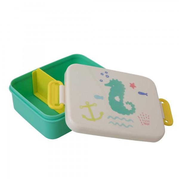 """Rice Lunchbox """"Seepferd"""" mit Abtrennung"""