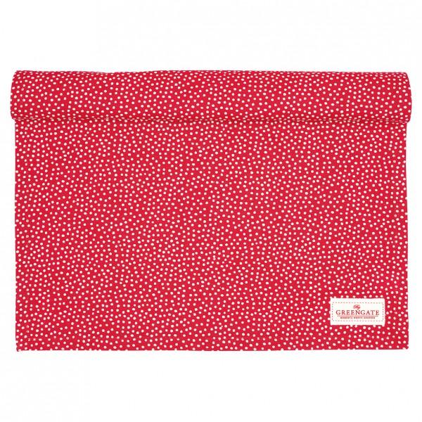 Greengate Tischläufer Dot red