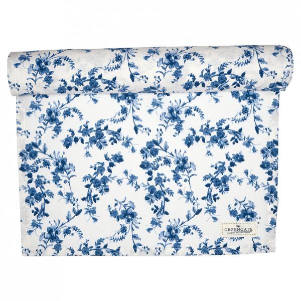 Greengate Tischläufer Vanessa blue