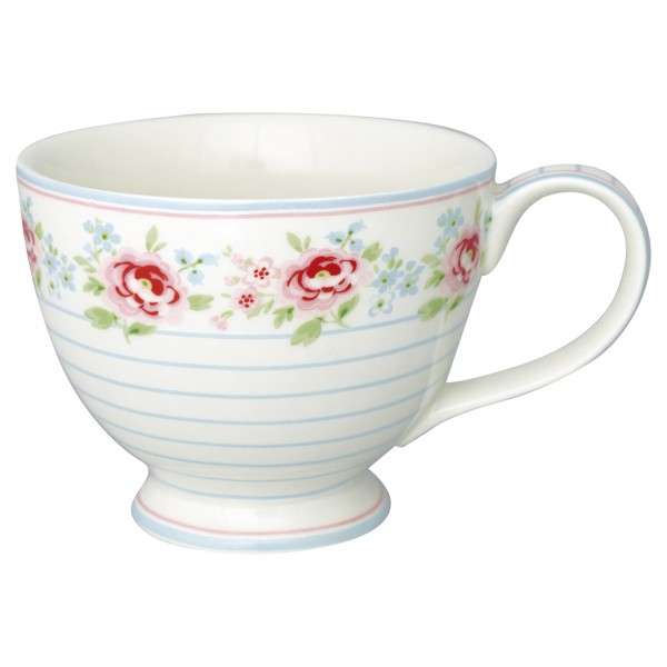 Greengate Teacup Meryl mega white