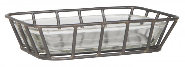 Ib Laursen Seifenschale mit Metall-Ständer
