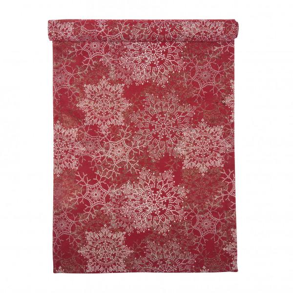 pad design Tischläufer Glamour Red 45 x 150 cm