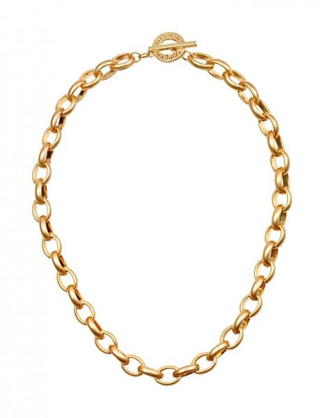 Sence Copenhagen Essentials necklace matt gold, 45 cm