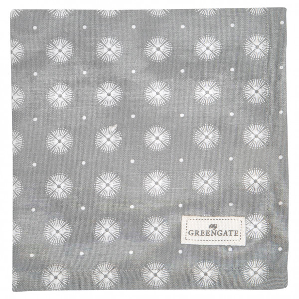 Greengate Stoffserviette Saga warm grey