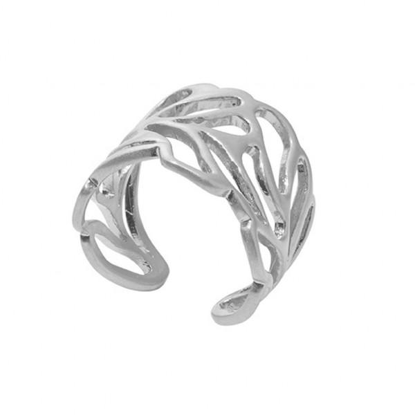 Sence Copenhagen Poem Ring matt silver