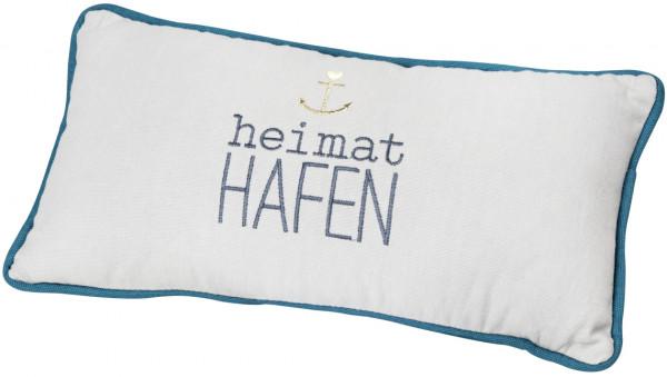 """räder Meer als Worte Traumkissen """"Heimathafen"""""""