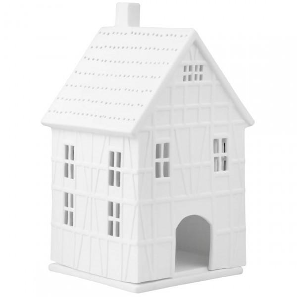 räder Living Lichthaus Fachwerkhaus gross