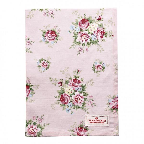 Greengate Geschirrtuch Aurelia pale pink