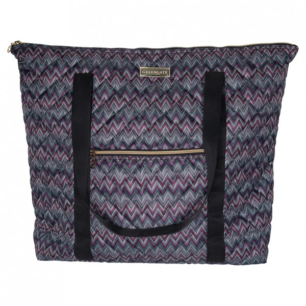Greengate Travel Bag Zindy dark grey