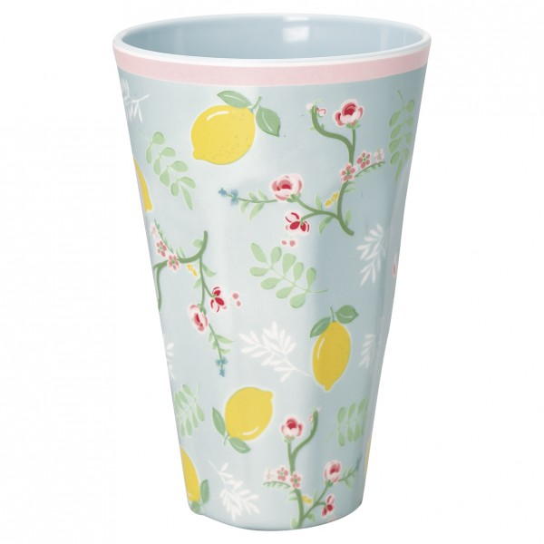 Greengate Melaminbecher Limona Pale Blue Tall Cup