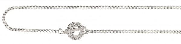 Sence Copenhagen Halskette worn silver