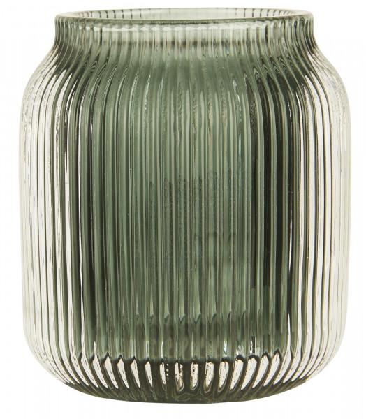 Ib Laursen Teelichthalter Moosgrün