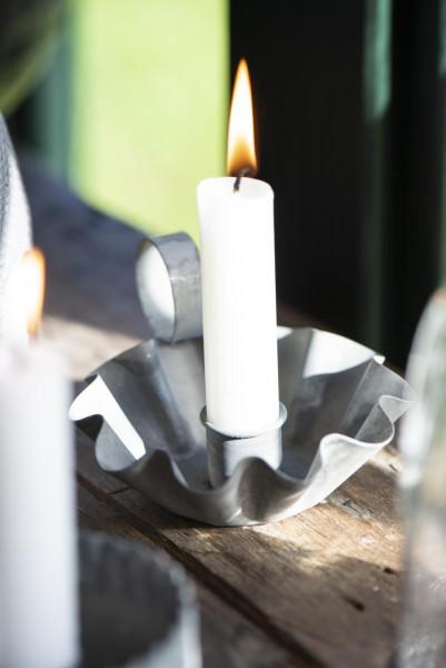 Ib Laursen Kerzenhalter gewellte Kante für Stabkerzen